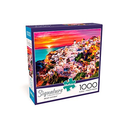 Buffalo Games - Signature Collection - Dreamy Santorini - 1000 Piece Jigsaw Puzzle - image 2 de 3