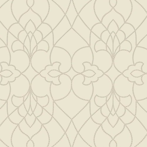 York Wallcoverings Modern Luxe Dotted Pirouette 27' x 27'' Geometric Wallpaper