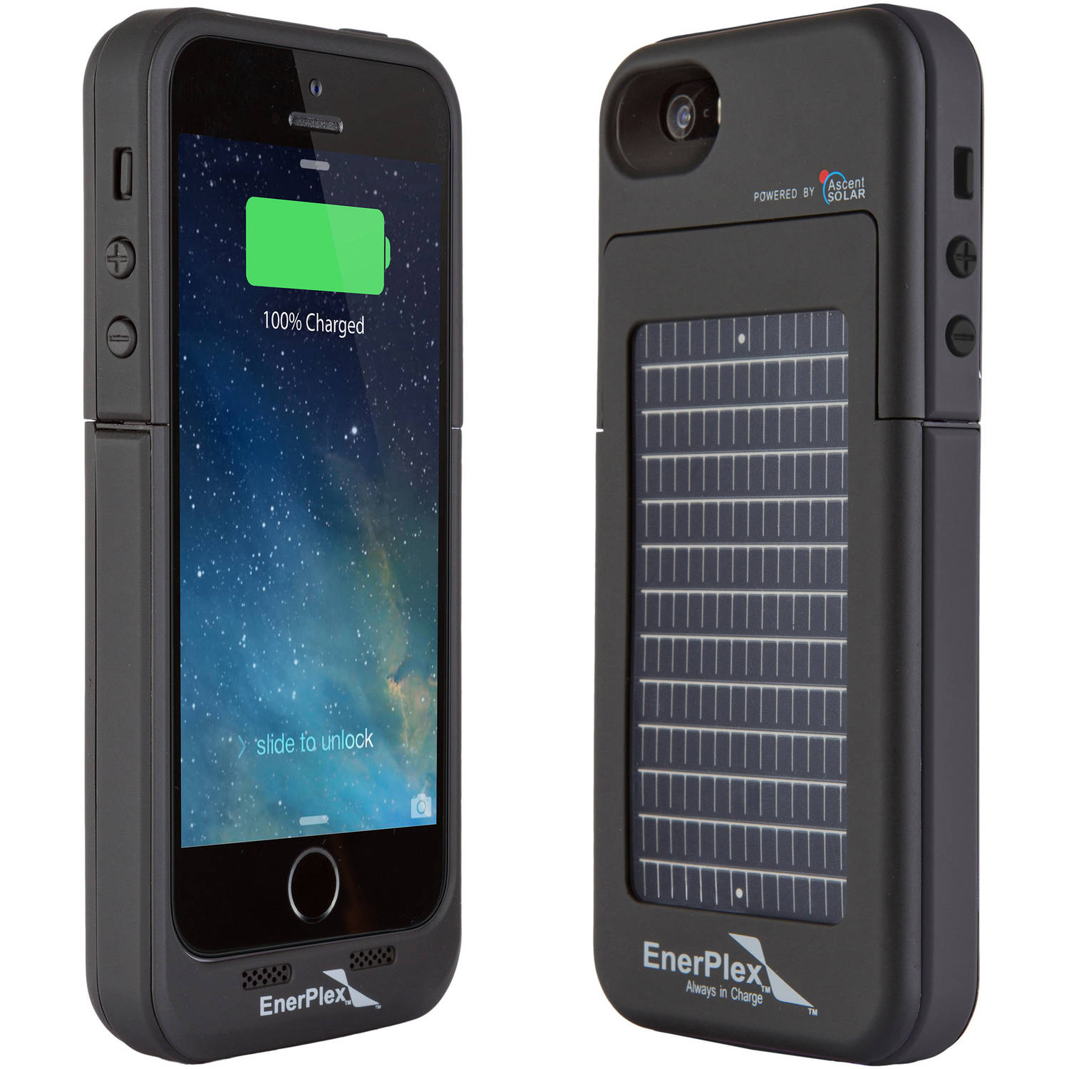 the best attitude 9d803 0aad0 EnerPlex SFI-2000 Surfr for iPhone 5SE/5s Phone Case with 2,000mAh  Rechargeable Lithium-Ion Battery