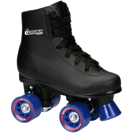 Chicago Roller Skates - Chicago Skates® Boy's Size 1 Black Roller Skates Box
