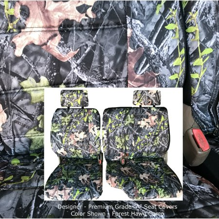 Super A67 Toyota Tacoma 1995 2000 Front 60 40 Split Bench Seat Covers Adjustable Headrest Armrest Access Camouflage Camo Cjindustries Chair Design For Home Cjindustriesco