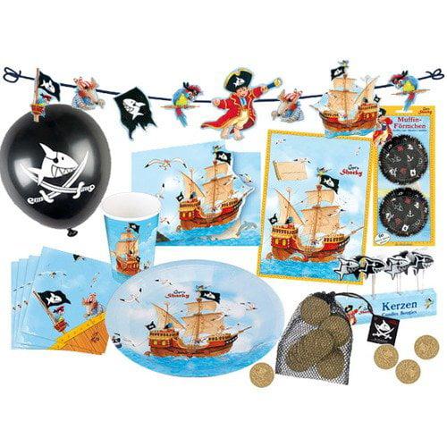 Spiegelburg Sharky Capt'n Sharky Birthday Party Kit