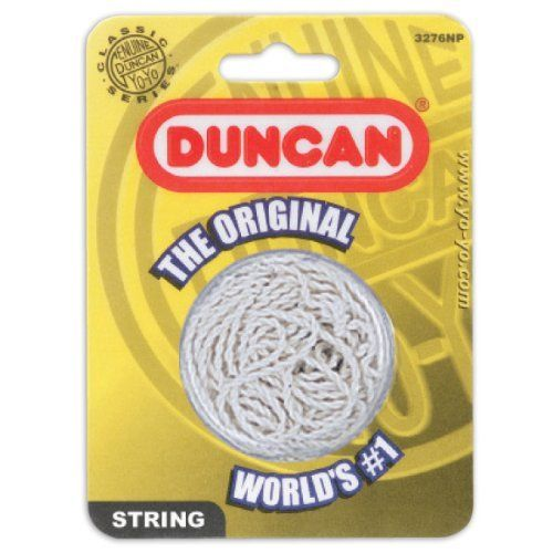 Duncan Yo Yo String 5 Pack White Cotton