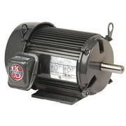 USEM U10P2D Mtr,3ph,10 HP,1800,208-230/460V,Eff 91.7