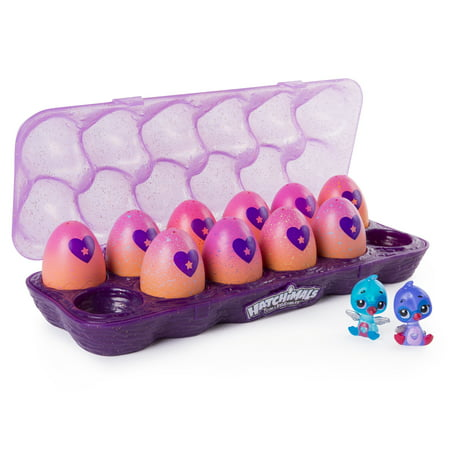 Hatchimals CollEGGtibles, 12Pack Egg Carton with Exclusive Season 4 Hatchimals CollEGGtibles, for Ages 5 and Up (Styles and Colors May Vary) (Toys In Eggs)