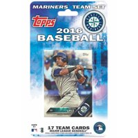 Seattle Mariners 2016 Trading Card Team Set - No Size