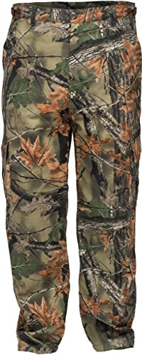 Trail Crest Men's Camo 6 Pocket Cargo Hunting  Hiking Pants Trousers, 2X by