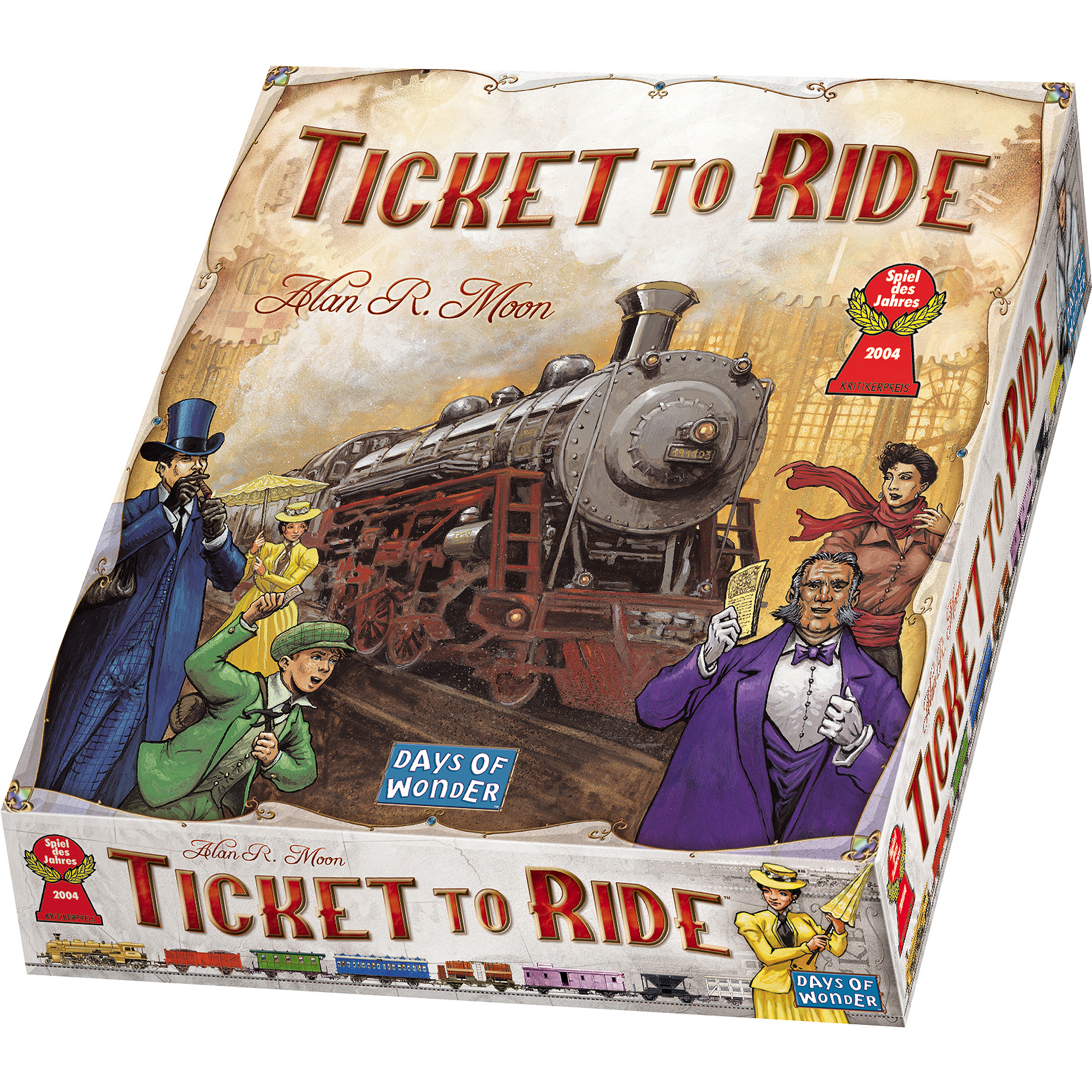 Bildresultat för ticket to ride usa