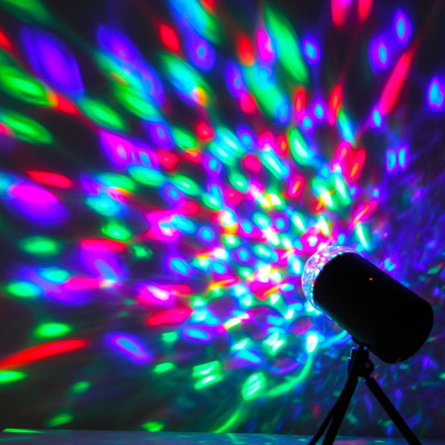 3W Ball Stage Lighting Mini Stage Lighting RGB Effect Laser Projector Party DJ Disco Xmas... by LESHP