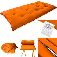 Tatami Floor Mat Japanese Bed Rolling Bed Thai Massage Bed Mattresses Single Size 3x27x80 Inch Dark Gray