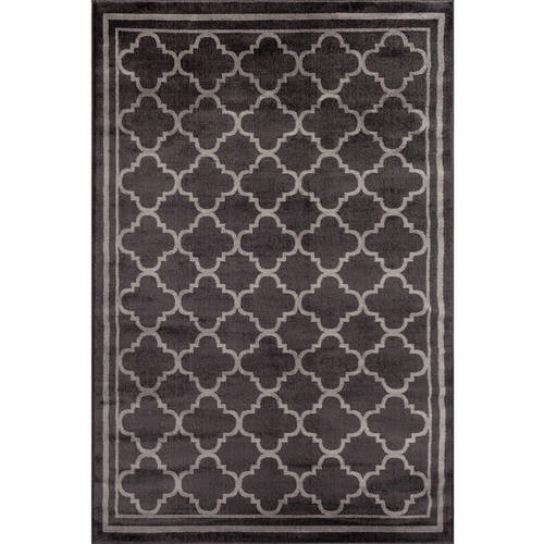 World Rug Gallery Trellis Contemporary Modern Design Area Rug
