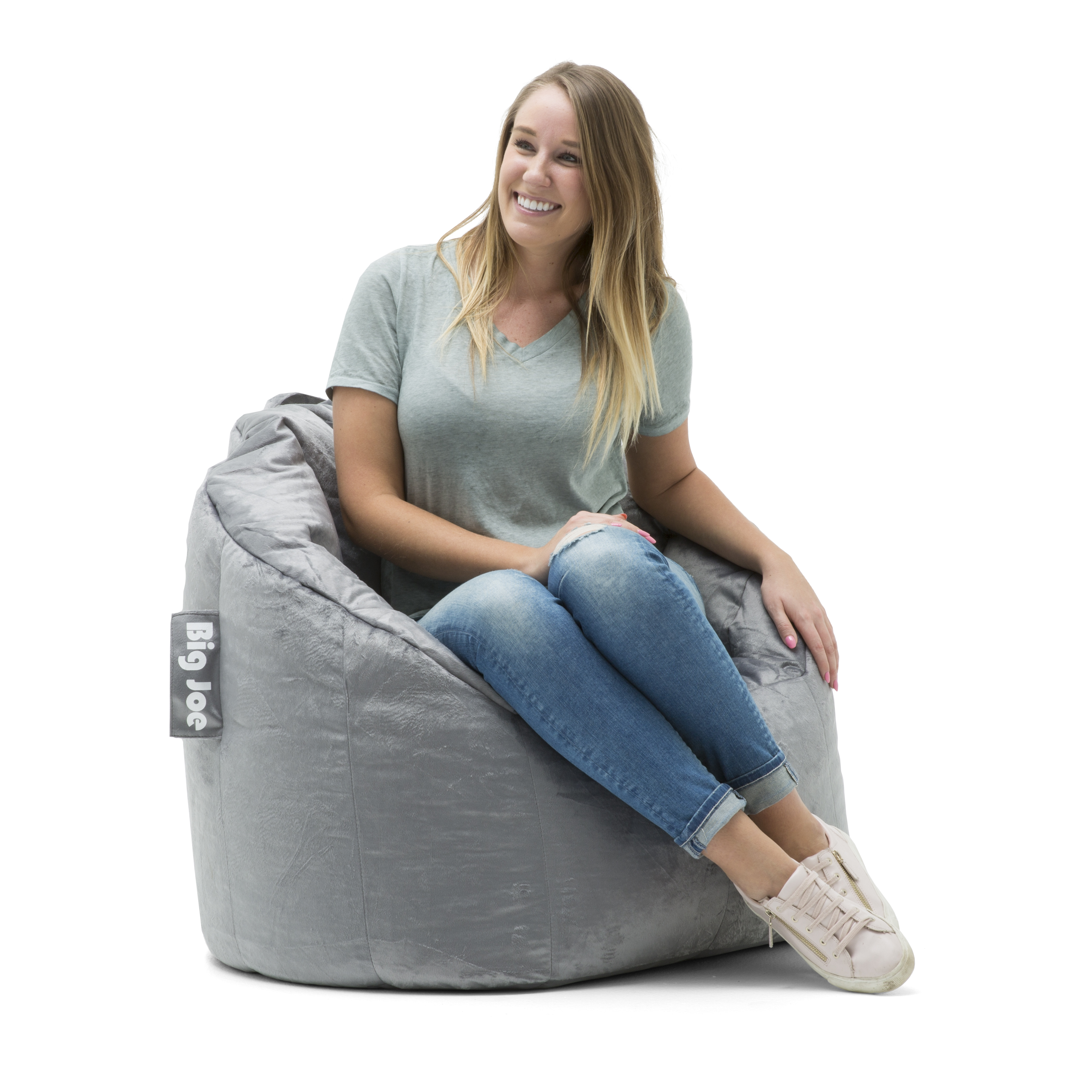 "Big Joe Milano Bean Bag Chair, Multiple Colors   32"" X 28"" X 25"" by Big Joe"