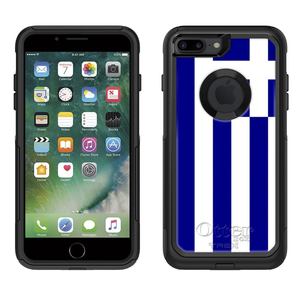 Otterbox Commuter Apple iPhone 7 Plus Case - Greece Flag Apple iPhone 7 Plus OtterBox Case