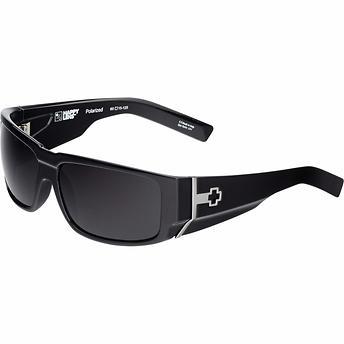 Spy Hailwood Shiny Black Polarized Sunglasses