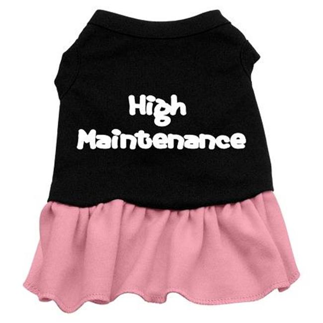 High Maintenance Dresses Black With Light Pink Sm (10) - image 1 de 1