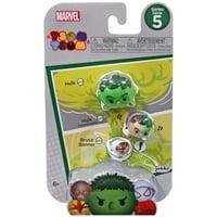 Marvel Tsum Tsum Series 5 Hulk, Hulk (Transforation) & Bruce Banner Minifigure 3-Pack