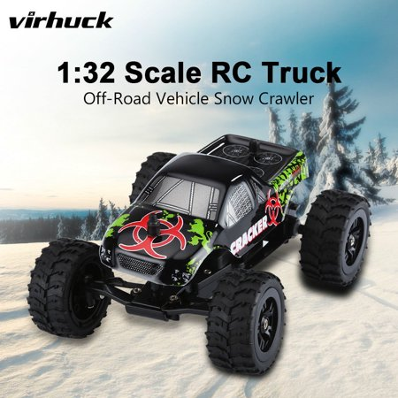 virhuck 1:32 scale mini remote control off-road car rc truck rc vehicle RC Car 2WD 1:32 Mini Scale Remote Control Electric Racing Car High Speed Vehicle with Rechargeable Battery Style Race Car