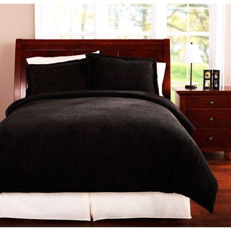 Mainstays Bedding Cutcord Comforter Cover Set Walmart Com