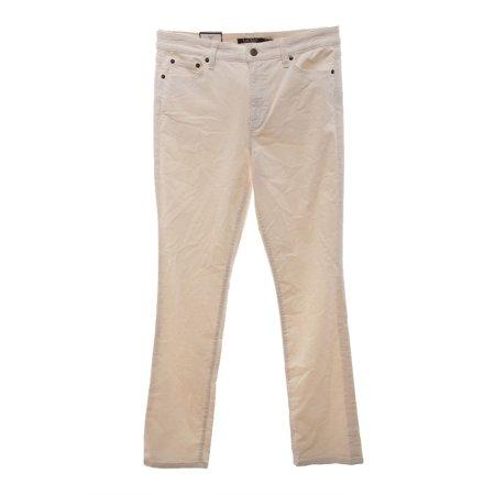 Lauren Ralph Lauren NEW Beige Women Size 14 Straight Leg Corduroys Pants