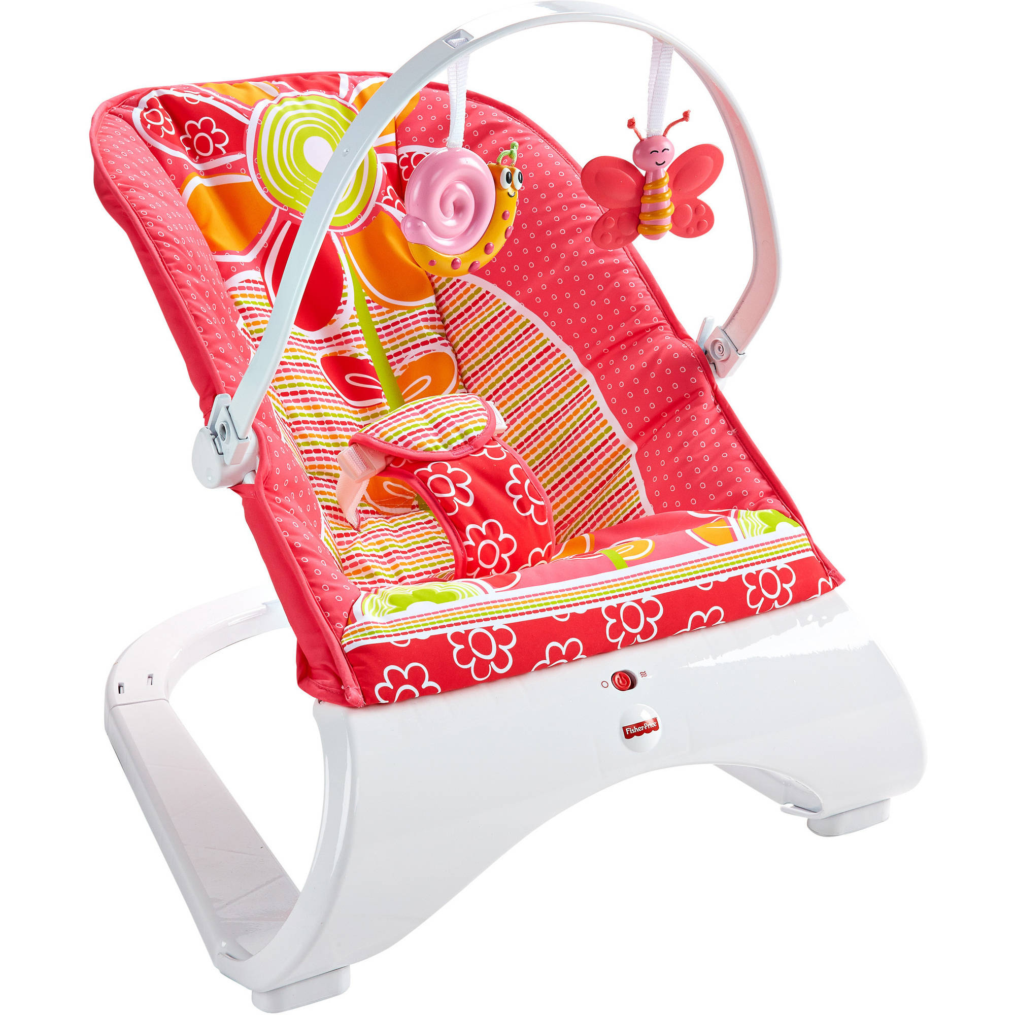 Fisher-Price Comfort Curve Bouncer - Floral Confetti
