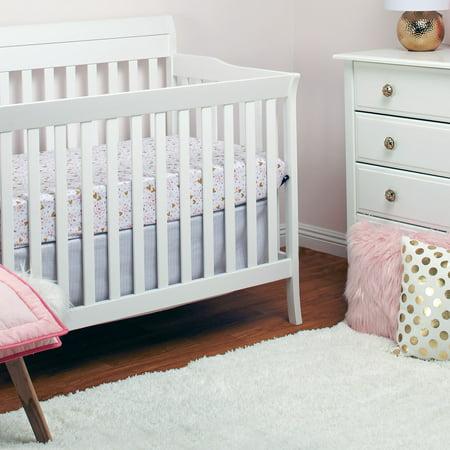 Little Love By Nojo Kids Nursery White Rug 5 9 X 3