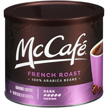 McCafe French Roast Ground Coffee, Caffeinated, 29 oz