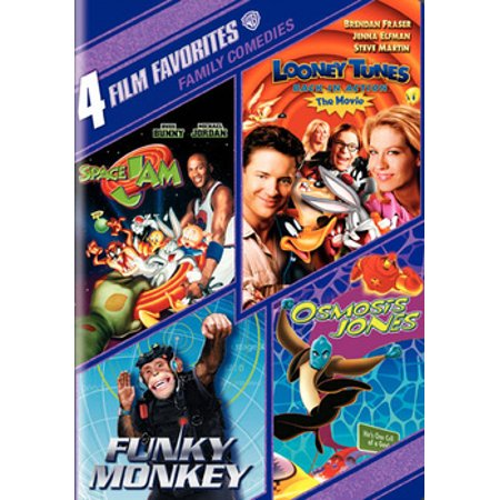 4 Film Favorites: Family Comedies (DVD) - Halloween Films For Family