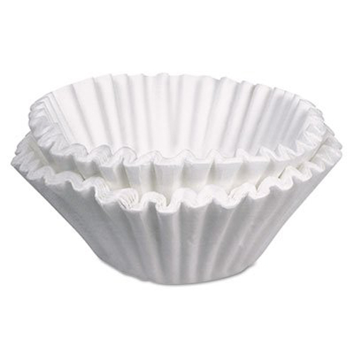 BUNN Commercial Coffee Filters, 10 Gallon Urn Style, 250 Pack by Bunn
