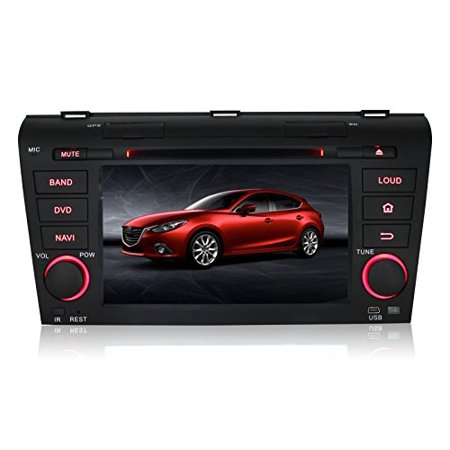 Pumpkin 7 inch Double Din In Dash HD Touch Screen Car DVD Player GPS Navigation Stereo For Mazda 3 2004-2009... by