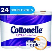 Cottonelle Ultra Comfort Care Double Roll Toilet Paper, 154 sheets, 24 rolls