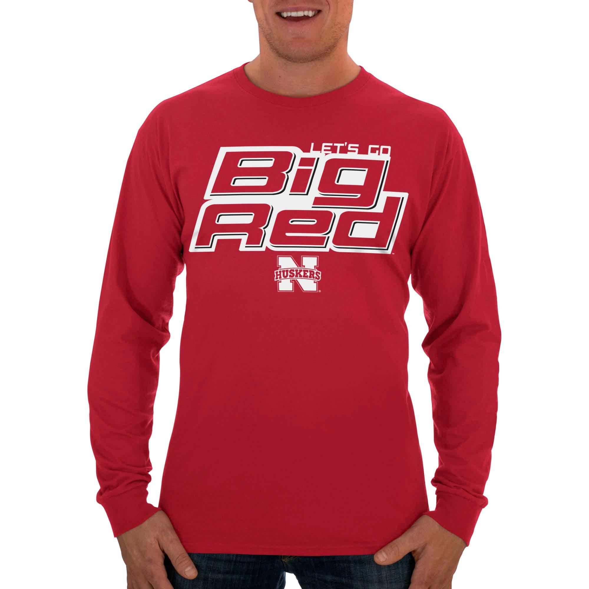 Russell NCAA Nebraska Cornhuskers Men's Long  T-Shirt