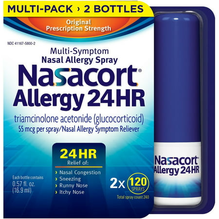 Nasacort Nasal Spray, 240 ct