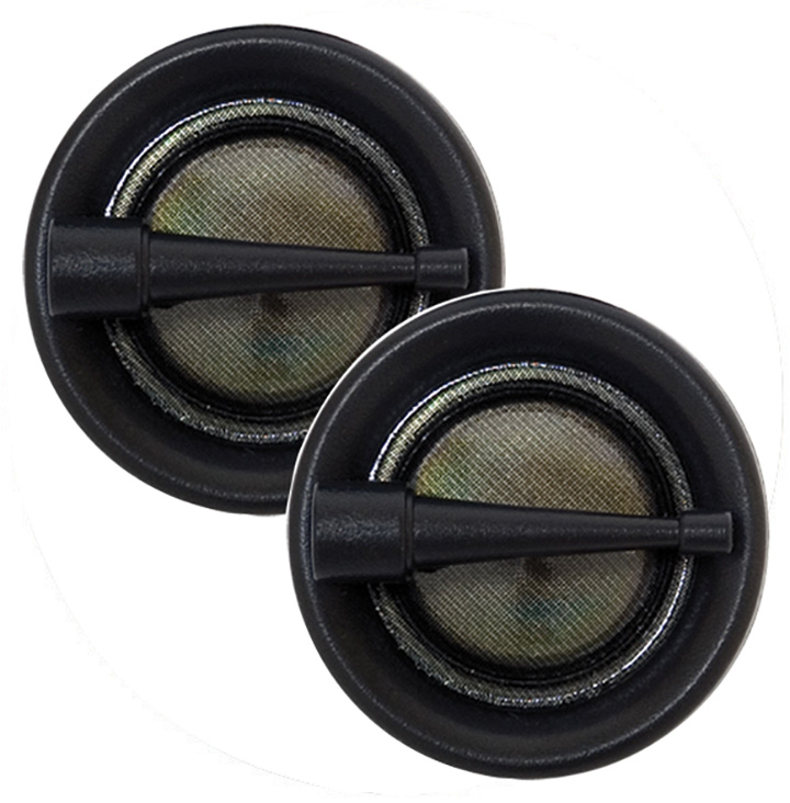 AUDIOPIPE SOFT DOME TWEETERS (Sold in pairs) 100WATTS MAX - image 1 of 1