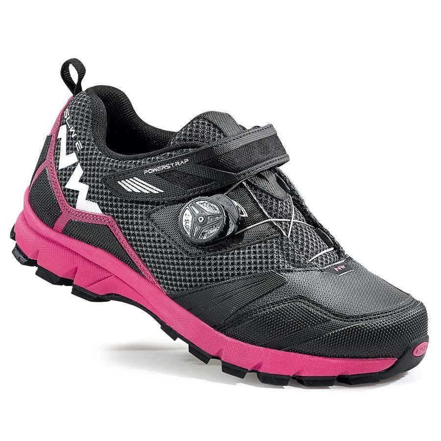 Northwave, Mission Plus, Ladies MTB shoes, Black/Fuchsia, 36
