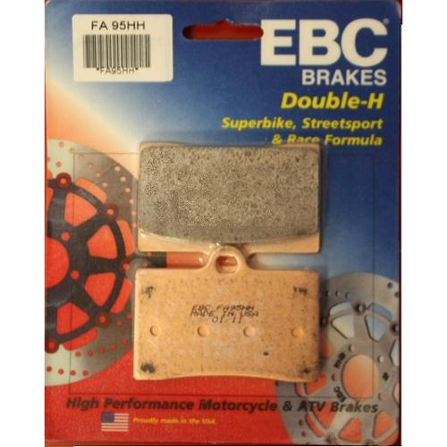 EBC Double-H Sintered Brake Pads Front (2 Sets Required) Fits 89-97 Ducati 900 SS