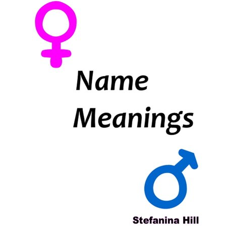 Name Meanings - eBook