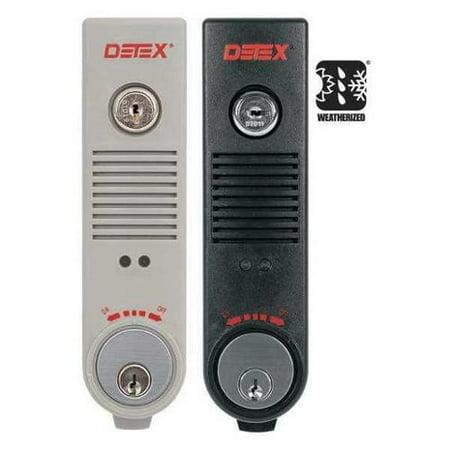 Detex Eax 300w Gray W Cyl Exit Door Alarm 9v Ul Listed