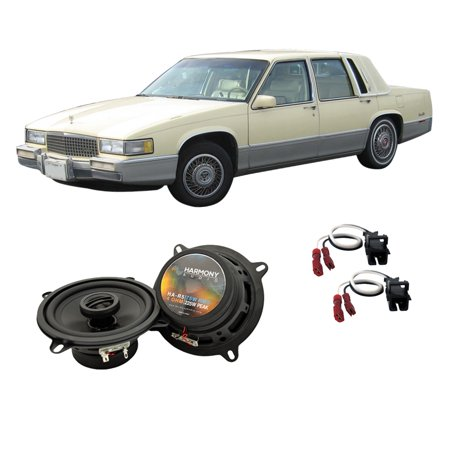 Cadillac Deville Door Handle - Fits Cadillac Coupe DeVille 1990-1993 Front Door Replacement HA-R5 Speakers New