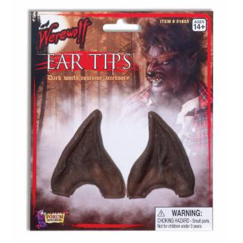 POINTED EAR TIPS-BROWN