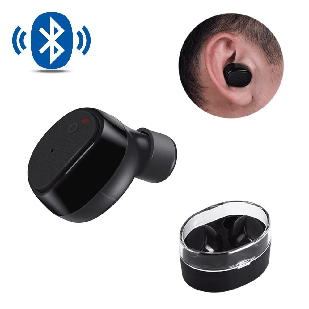 AGPTEK Bluetooth Earbuds, Wireless Stereo In-Ear headphones, Bluetooth 4.2 Mini Sweatproof Sports Earphones with Mic