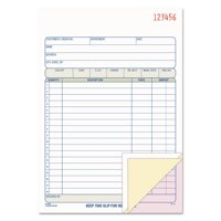 Adams 3-Part Carbonless Invoice