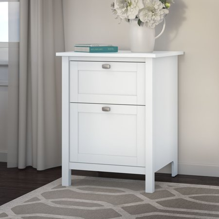 Bush Furniture Havenside Home Bellport 2-drawer File Cabinet in Pure White ()