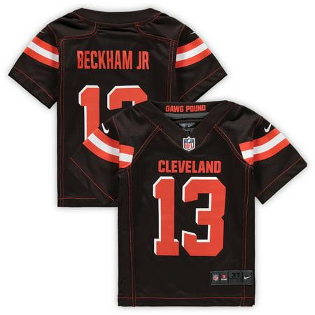 - Odell Beckham Jr. Cleveland Browns Nike Toddler Game Jersey - Brown