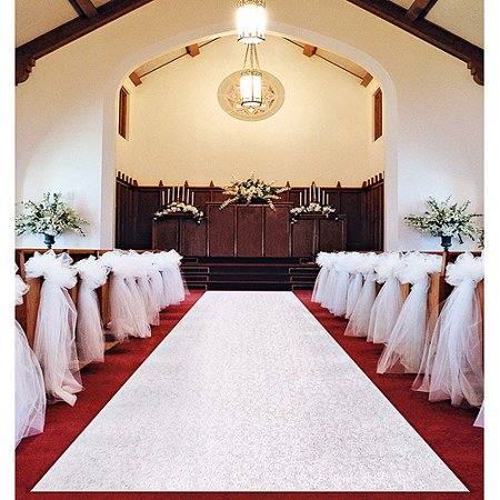 Wilton Wedding Aisle Runner 1006 2561 Walmart Com