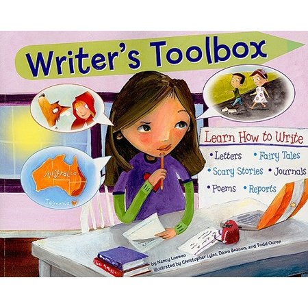 Writer's Toolbox : Learn How to Write Letters, Fairy Tales, Scary Stories, Journals, Poems, and Reports (Halloween Poems Scary)