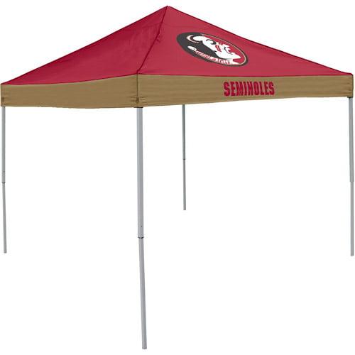 Logo Chair NCAA Florida State 9' x 9' Economy Tent, Sleeps 11