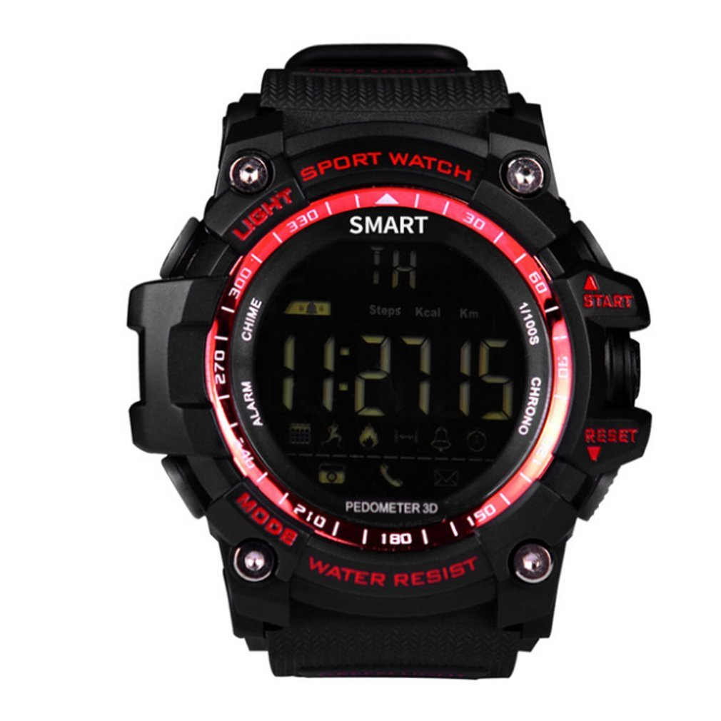 EX16 IP67 Waterproof Bluetooth Smart Watch Smart Luminous Dial Sports Wristwatch For Android For IOS Support Remote Camera
