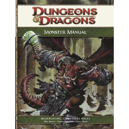 - Monster Manual : Roleplaying Game Core Rules