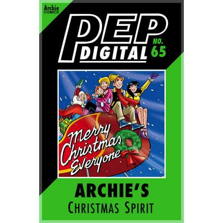 Pep Digital Vol. 065: Archie's Christmas Spirit - eBook - Pep Rally Spirit Ideas