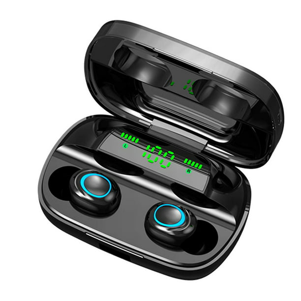 Wireless Bluetooth Earbuds Bluetooth 5 0 Earphones With Digital Led Display 3500 Mah Charging Case 135h Playtime Stereo Sound Headphone Ipx5 Waterproof Built In Mic For Sports Workout Gym L3856 Walmart Com Walmart Com